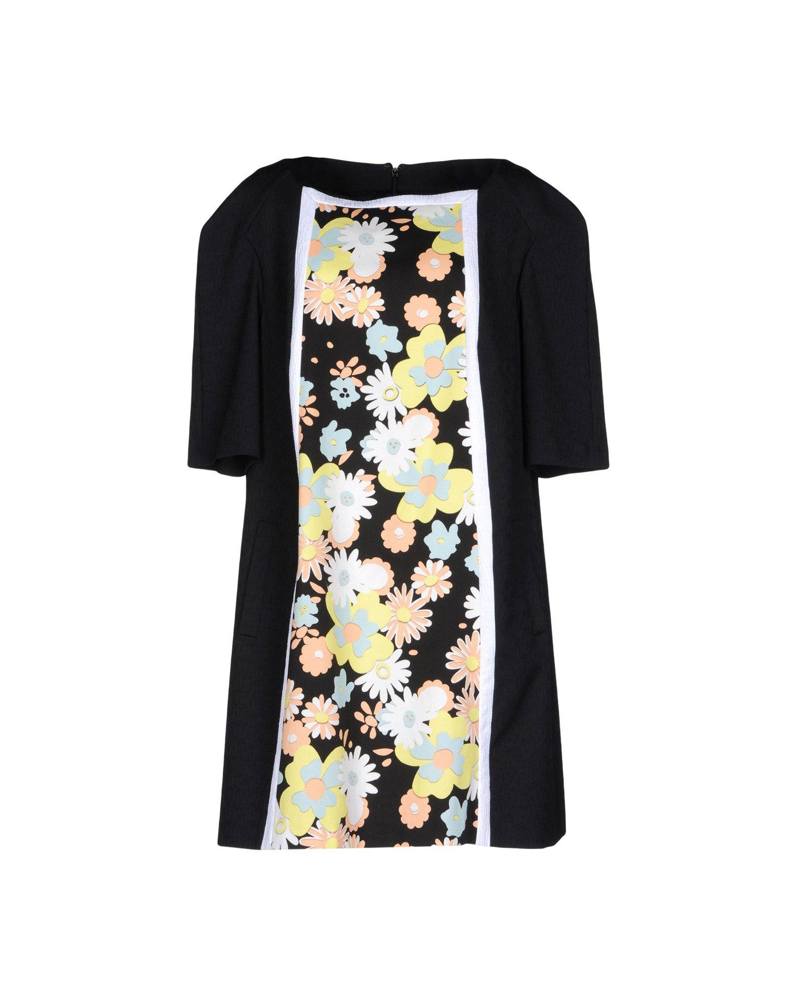 TALBOT RUNHOF Короткое платье цены онлайн