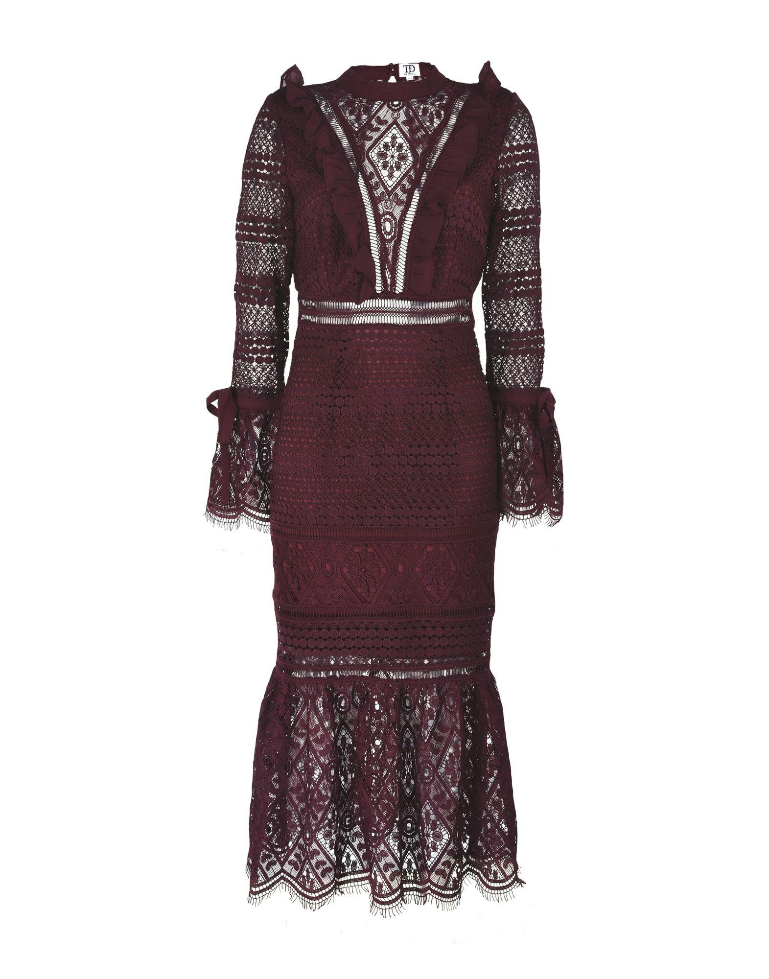 TD TRUE DECADENCE Платье длиной 3/4 golf 3 td 2011