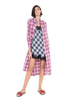ALBERTA FERRETTI Midi-length shirt dress PINAFORE DRESS D a