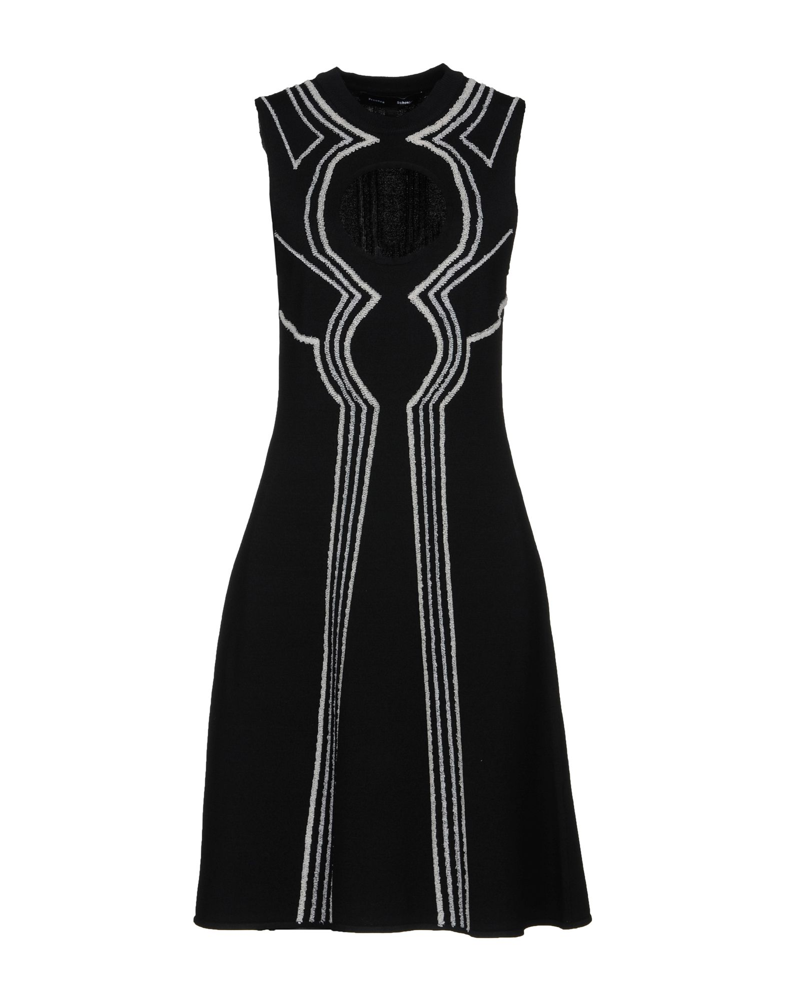 цена PROENZA SCHOULER Платье до колена онлайн в 2017 году