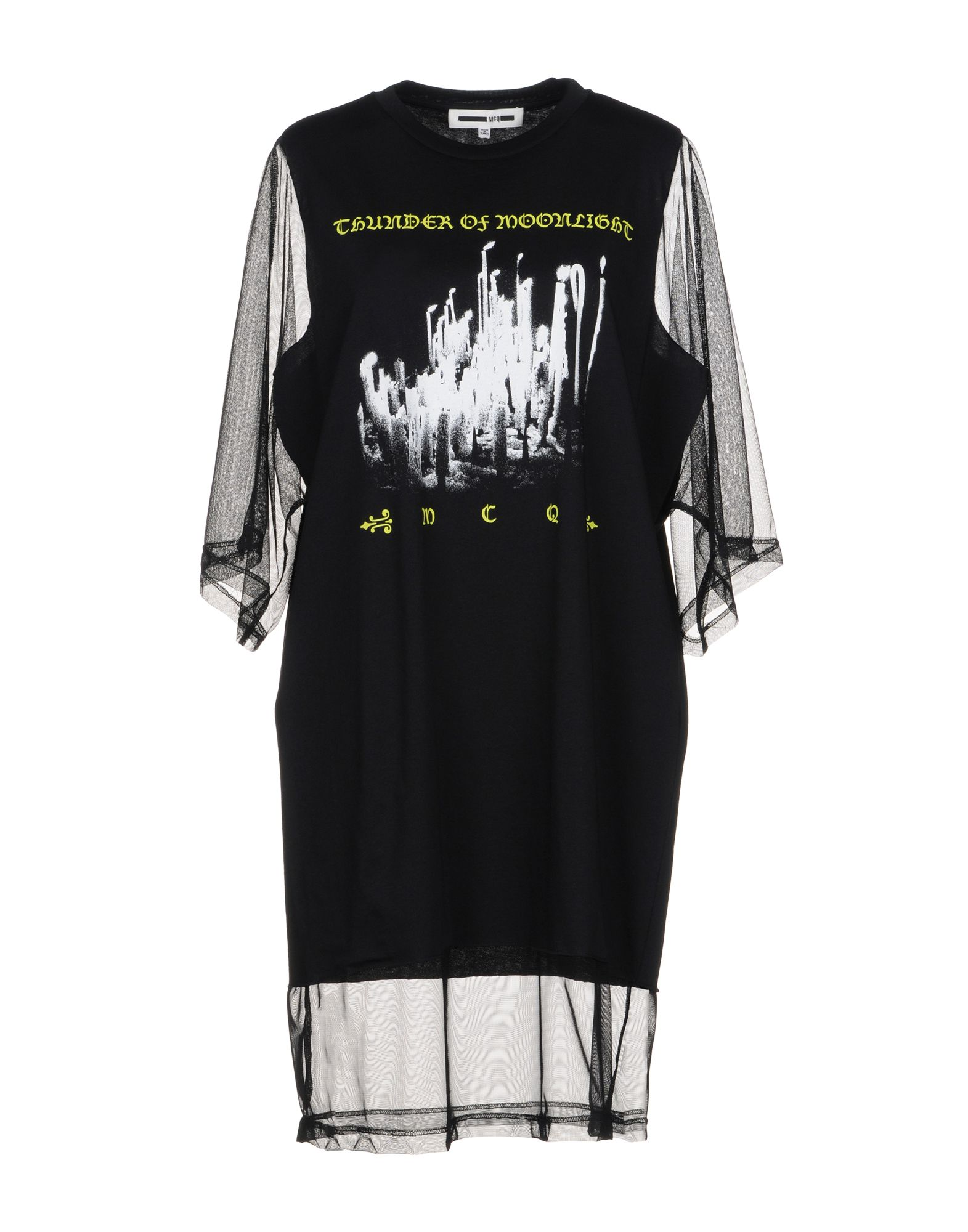 McQ Alexander McQueen Короткое платье цена 2017