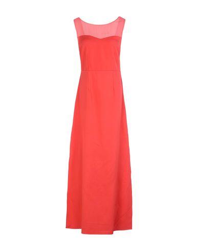 Фото - Женское длинное платье KORALLINE кораллового цвета