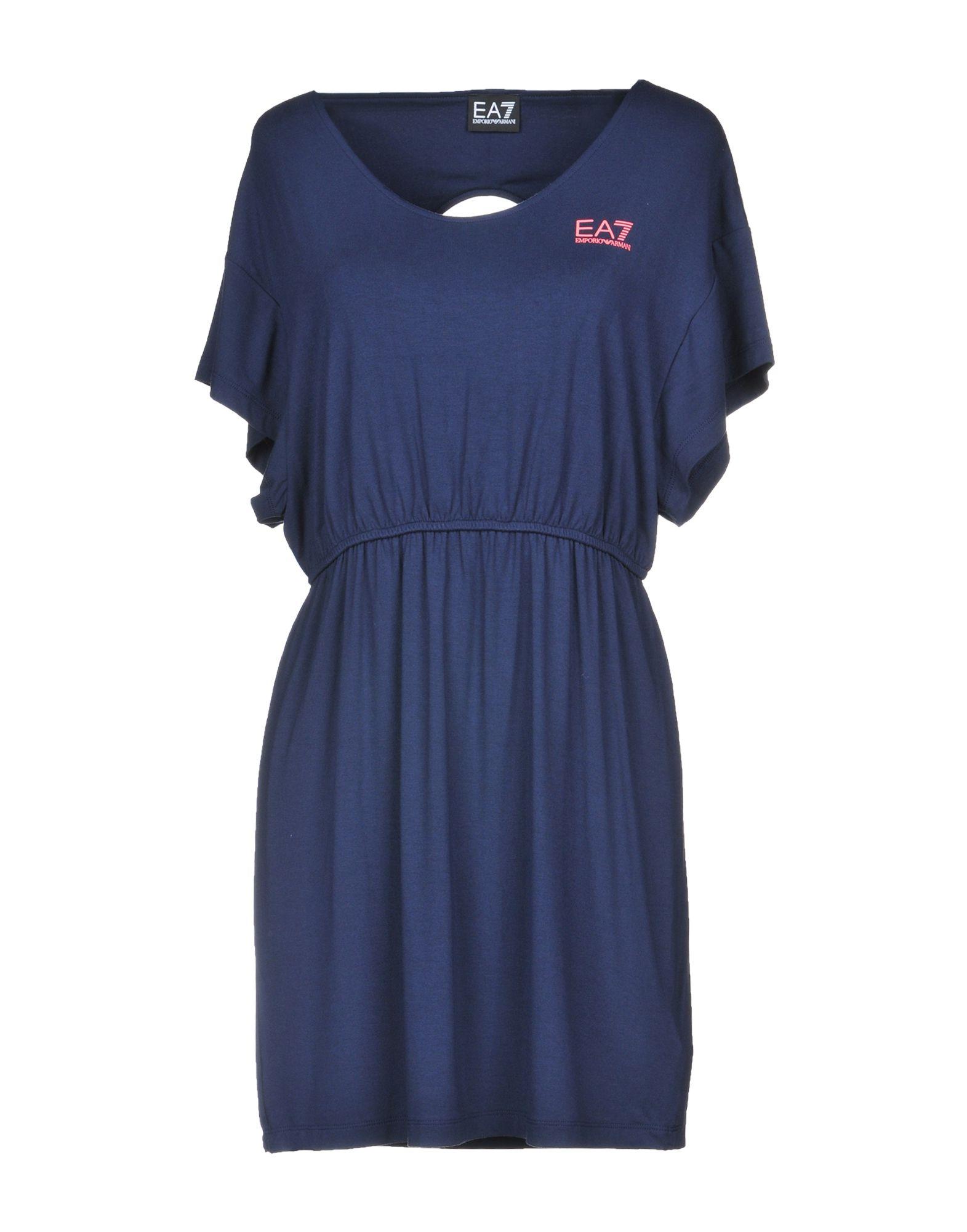 EA7 Короткое платье платье ea7 ea7 ea002ewrbc46