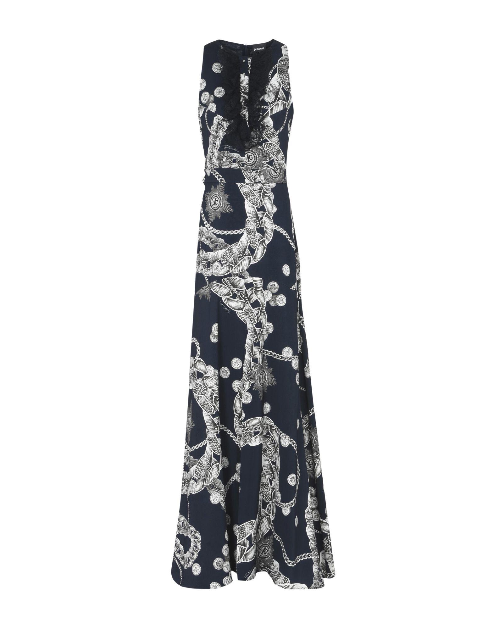 JUST CAVALLI Длинное платье платье короткое спереди длинное сзади летнее