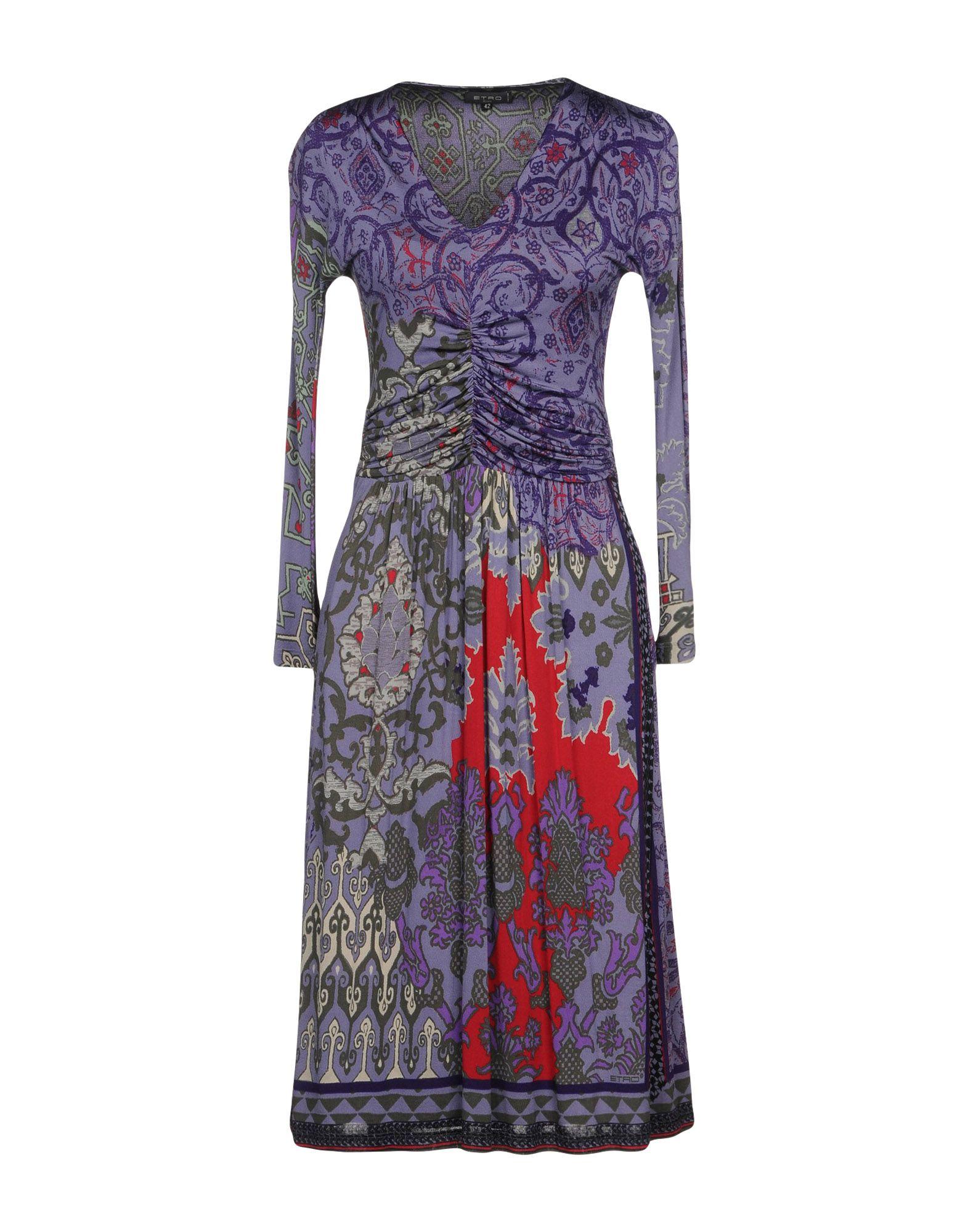 ETRO Платье до колена etro платье от etro 54666