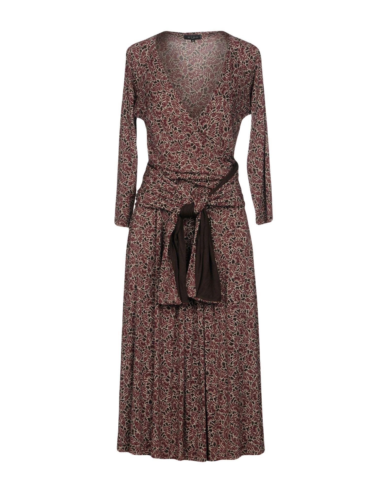 ETRO Платье длиной 3/4 платье etro разноцветный