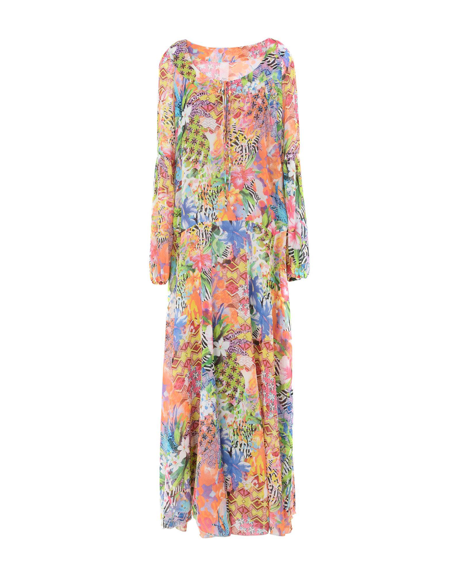 цена FEMME by MICHELE ROSSI Длинное платье онлайн в 2017 году