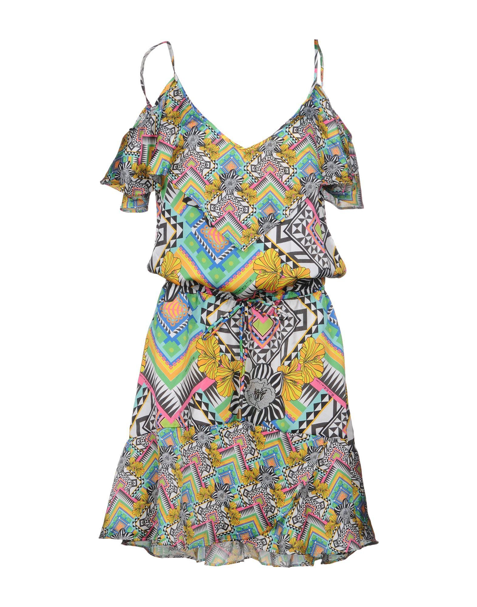 MISS BIKINI LUXE Короткое платье halter crisscross cropped bikini set