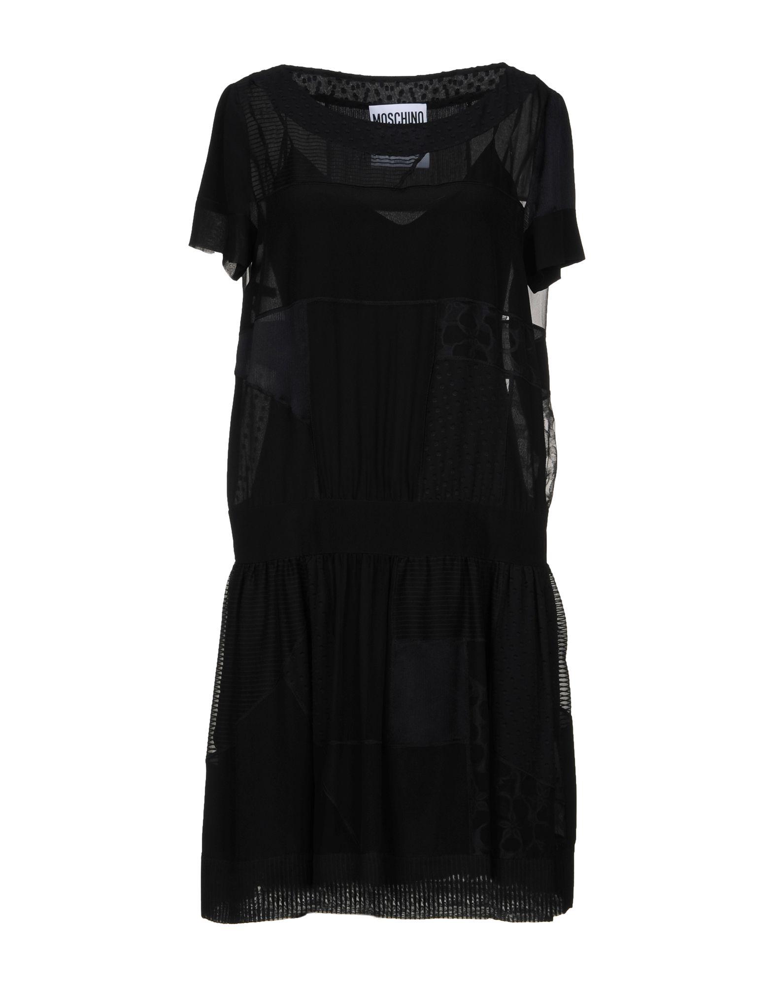 Фото - MOSCHINO Короткое платье moschino короткое платье