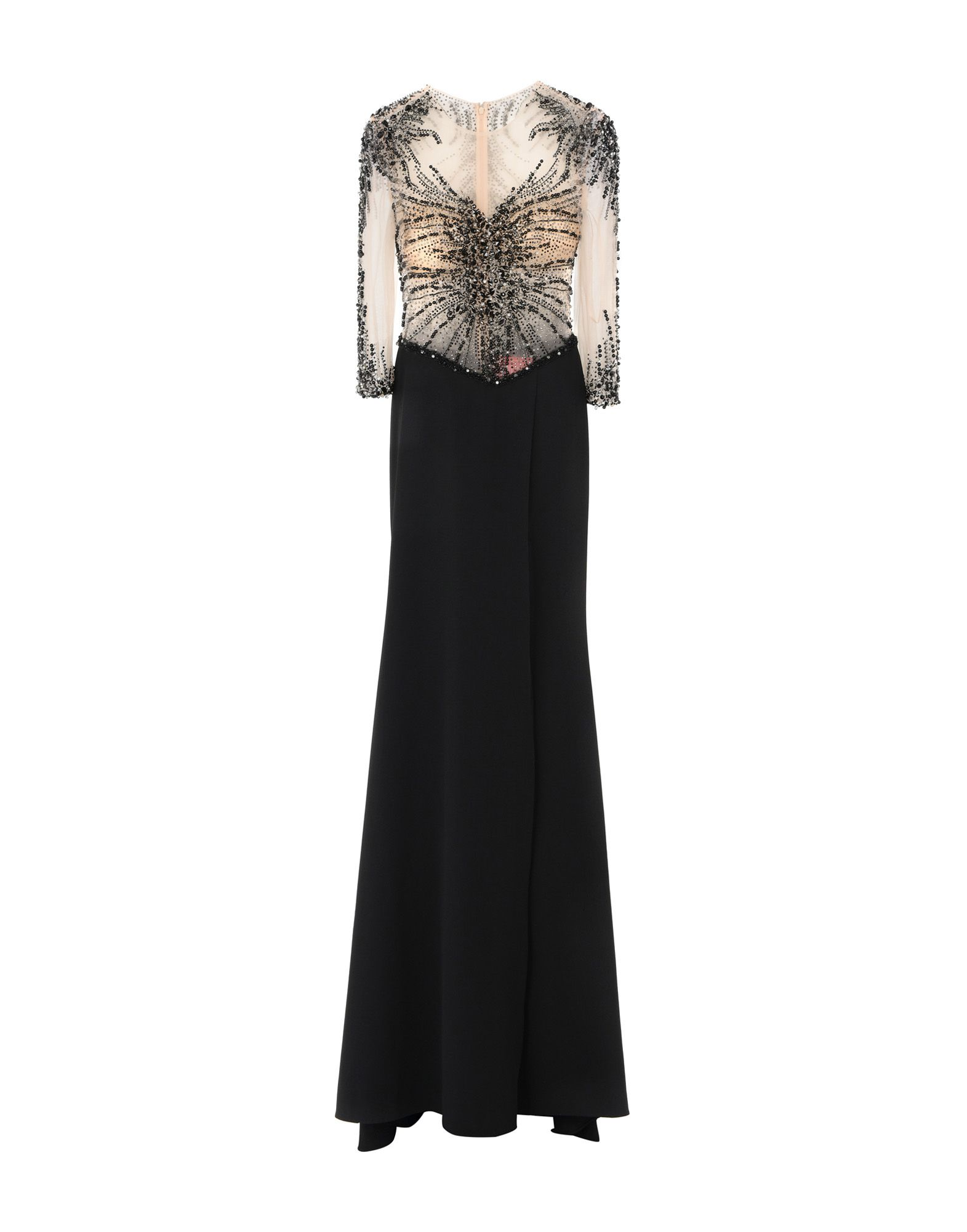 GAI MATTIOLO Длинное платье платье короткое спереди длинное сзади летнее