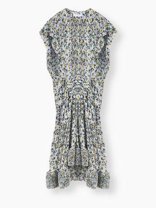 Dropped-waist dress