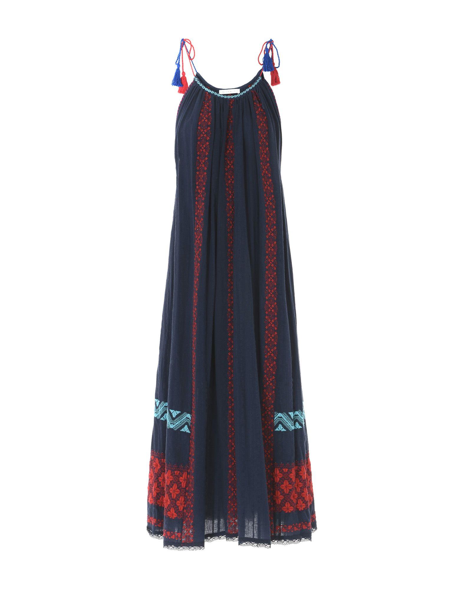 цена ULLA JOHNSON Платье до колена онлайн в 2017 году