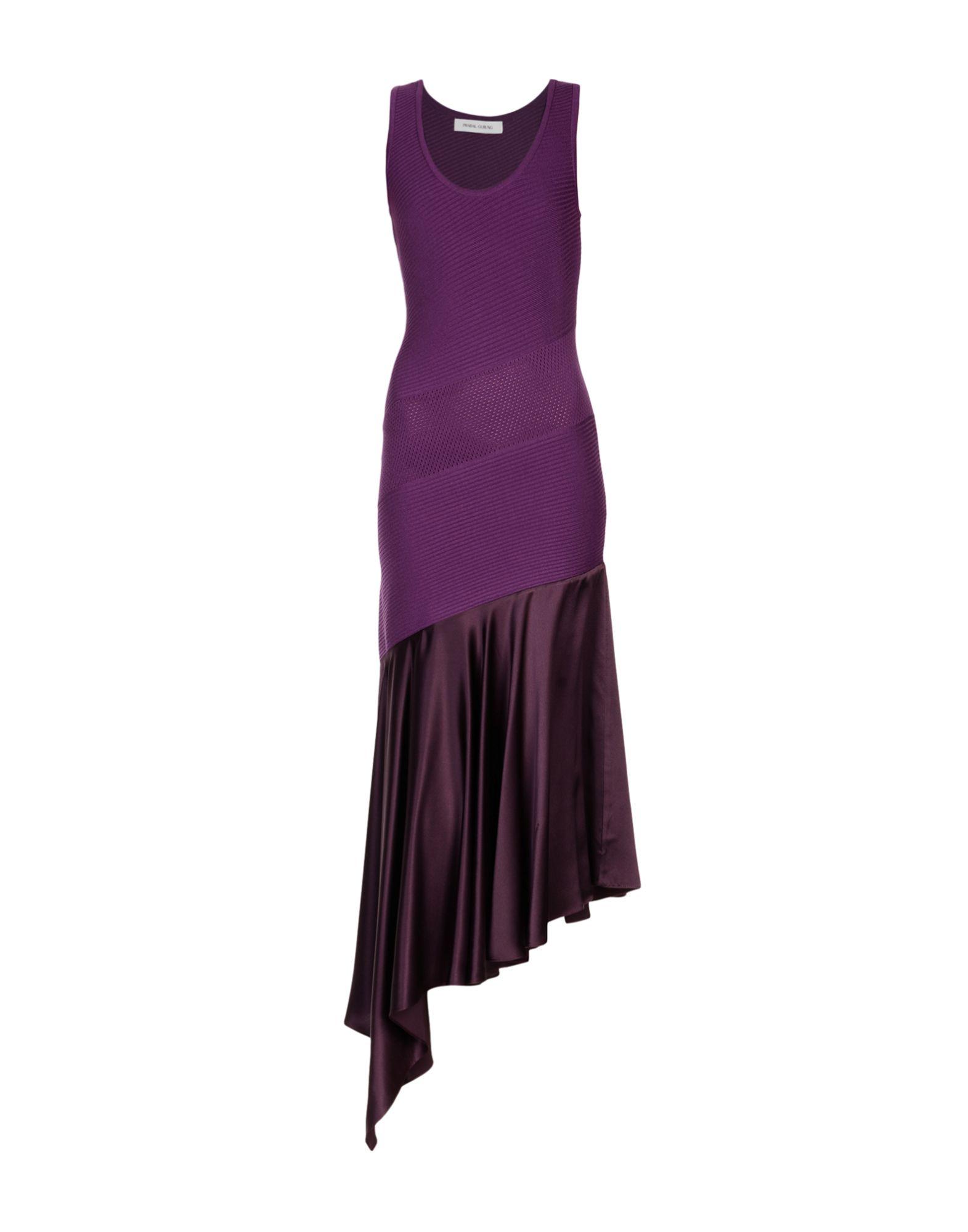 цена PRABAL GURUNG Длинное платье онлайн в 2017 году