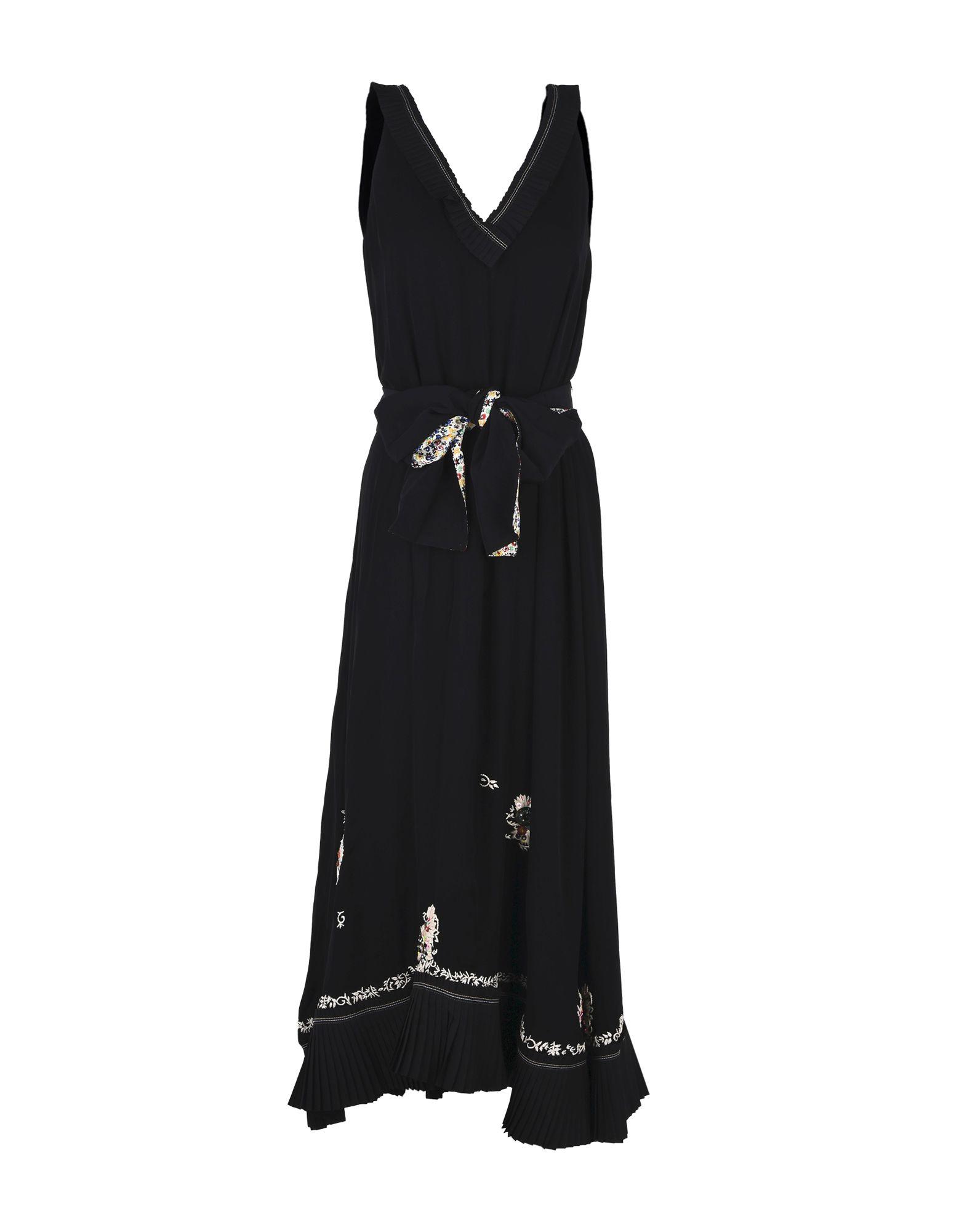 DEREK LAM 10 CROSBY Длинное платье