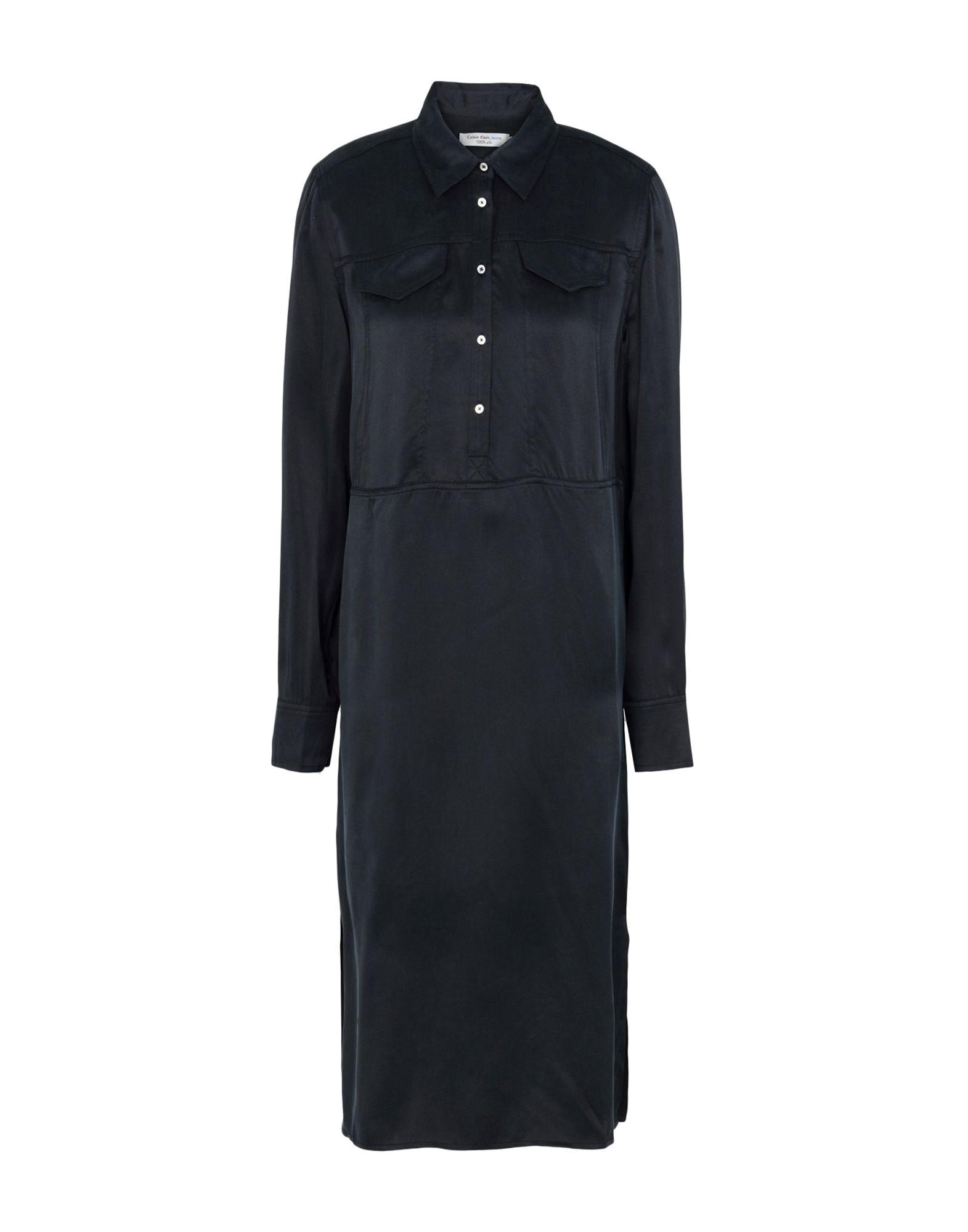 CALVIN KLEIN JEANS Платье до колена кошелек calvin klein jeans calvin klein jeans ca939bwapqt1