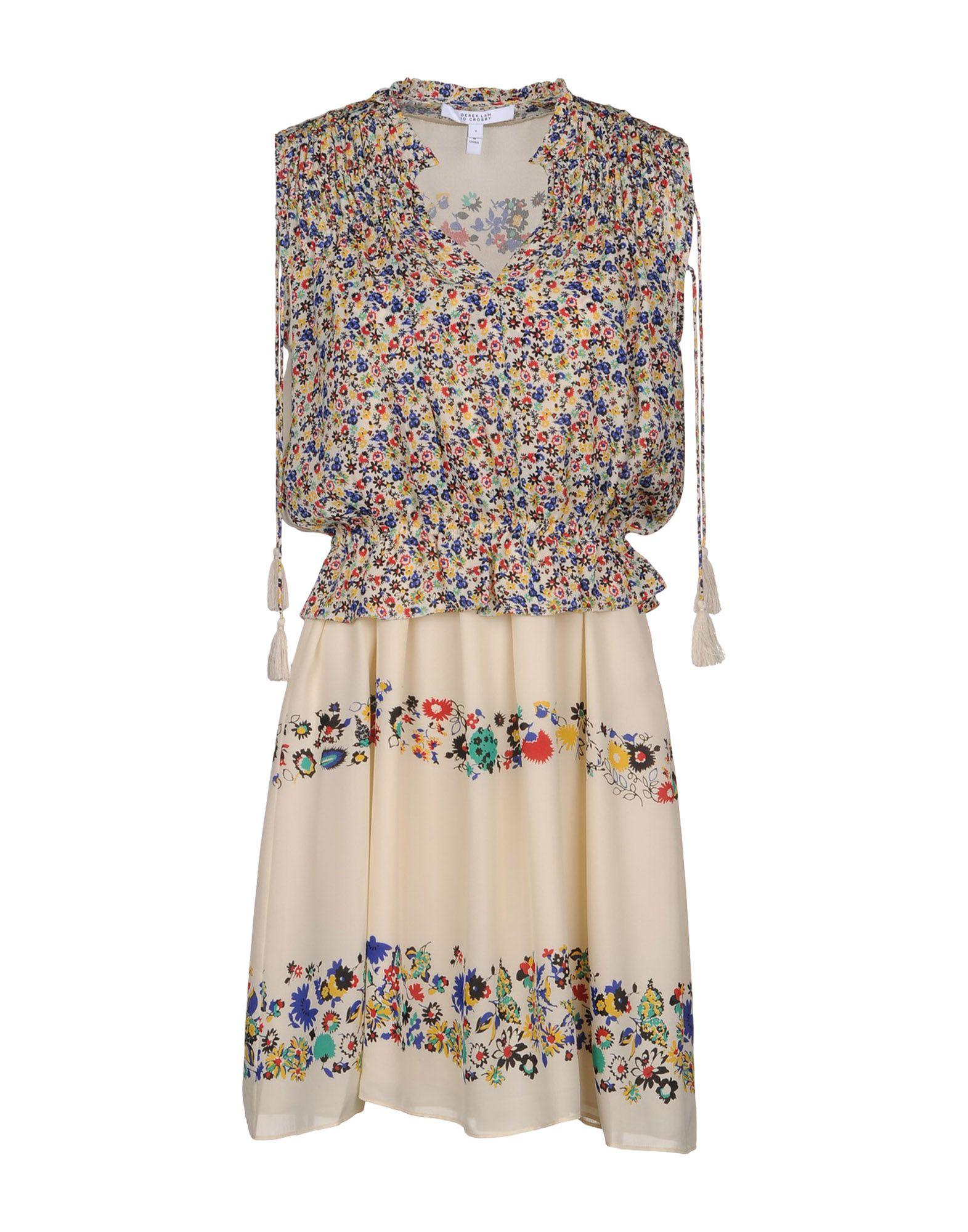 купить DEREK LAM 10 CROSBY Короткое платье по цене 18200 рублей