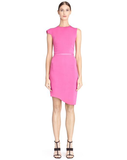 PINK MID-LENGTH DRESS  - Lanvin