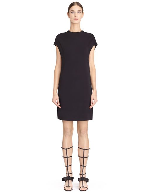 BLACK MID-LENGTH DRESS - Lanvin