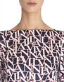 LANVIN Dress Woman LANVIN LOGO WRAP DRESS f