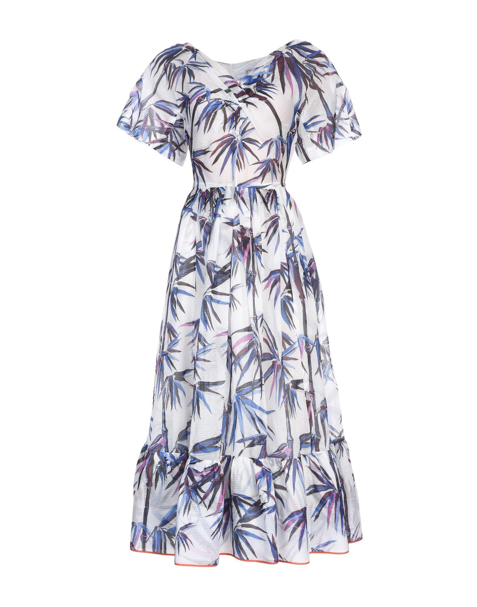 EMILIO PUCCI Платье длиной 3/4 emilio pucci сумка на руку