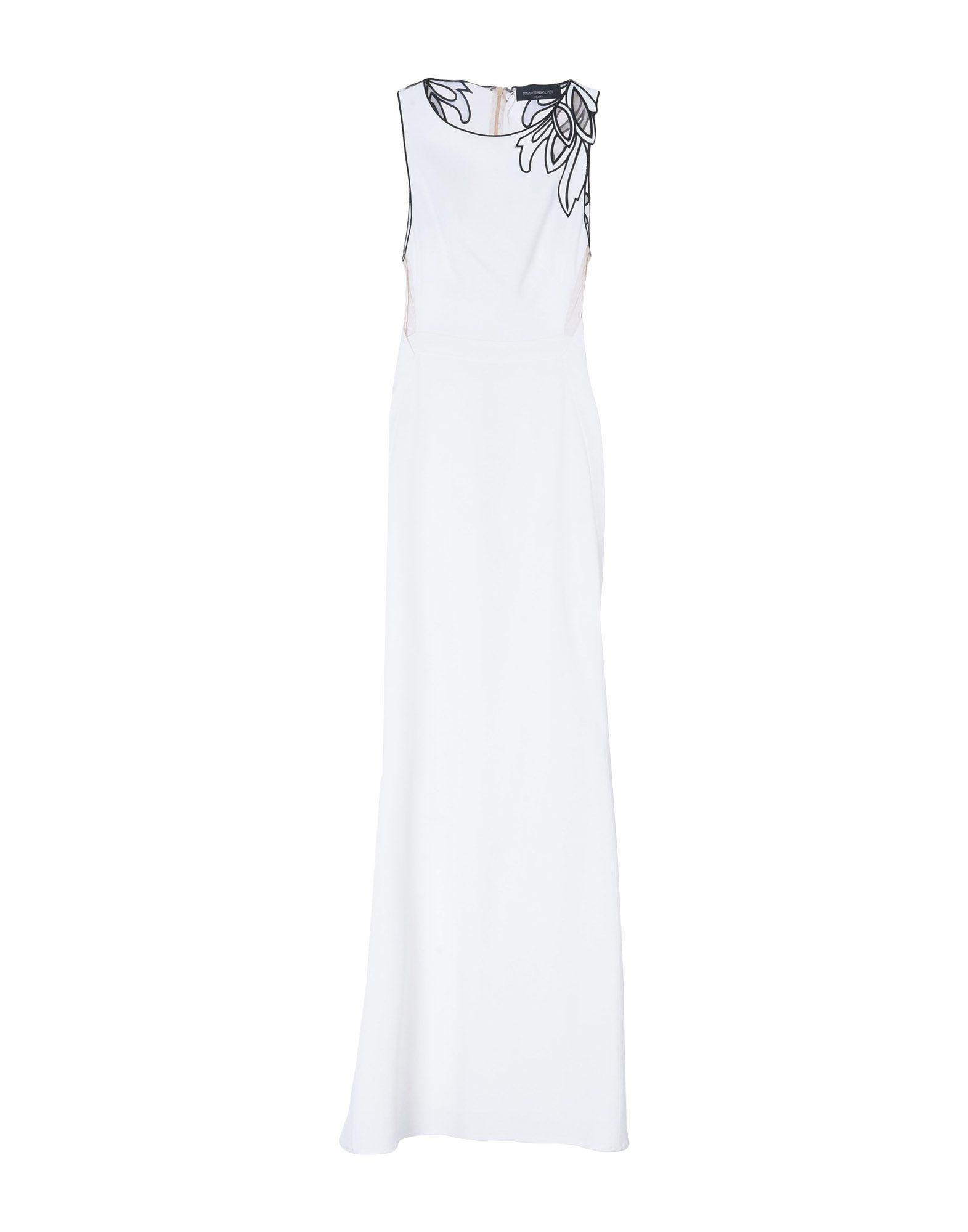 цена MARIA GRAZIA SEVERI Длинное платье онлайн в 2017 году