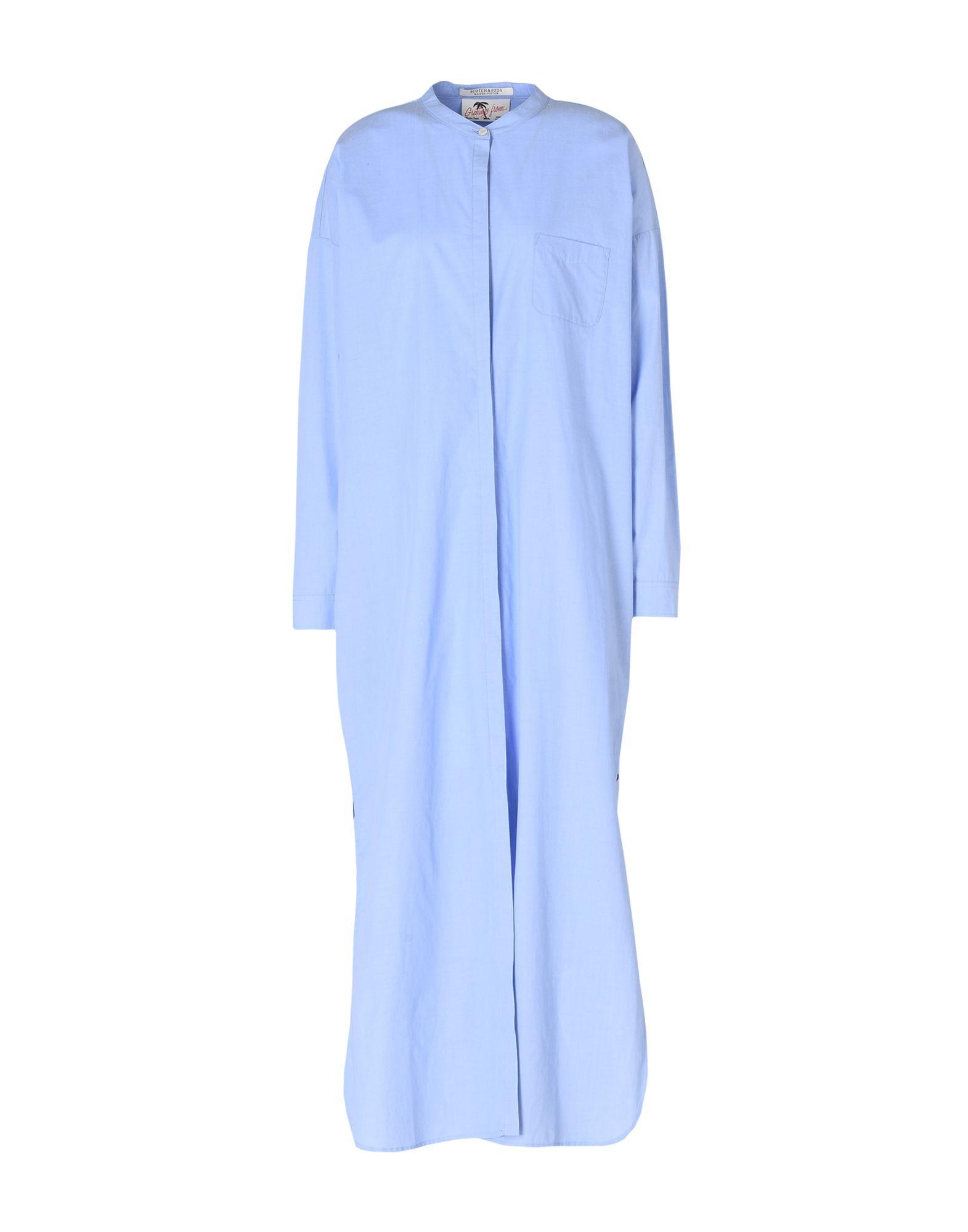 MAISON SCOTCH Длинное платье maison scotch рубашка maison scotch 133 1621 0120131137 03