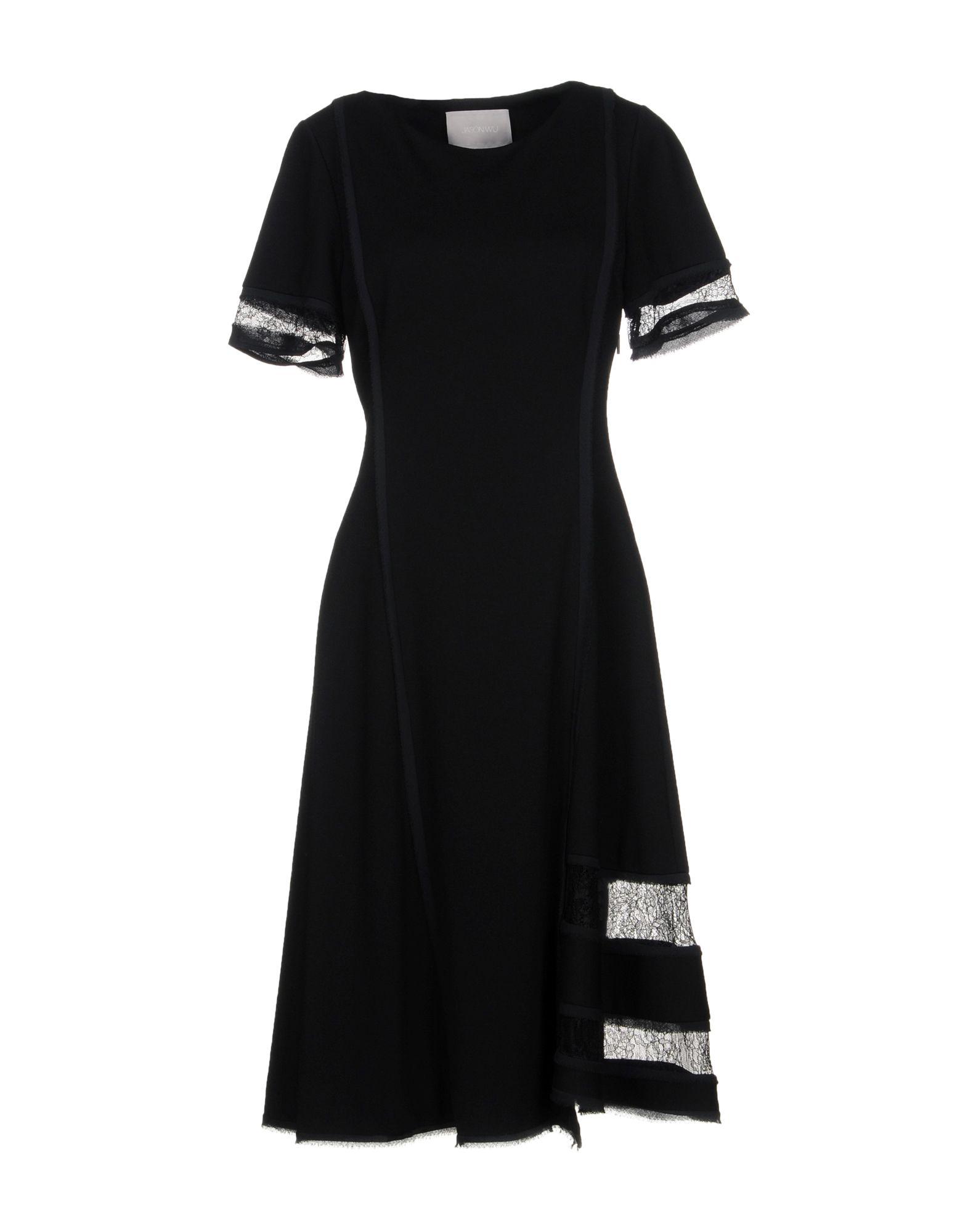 JASON WU Платье до колена jason wu длинное платье