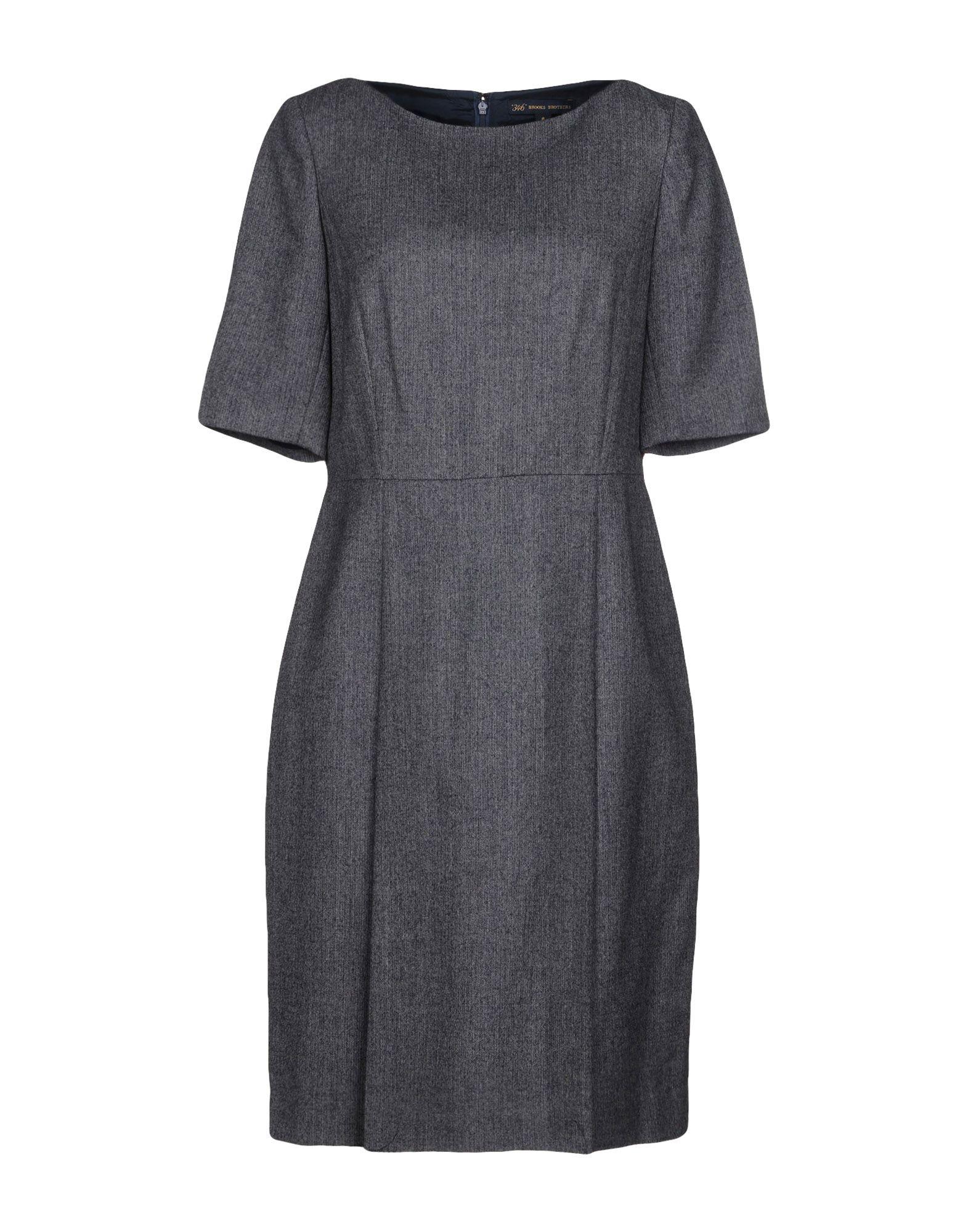цена BROOKS BROTHERS Платье до колена онлайн в 2017 году