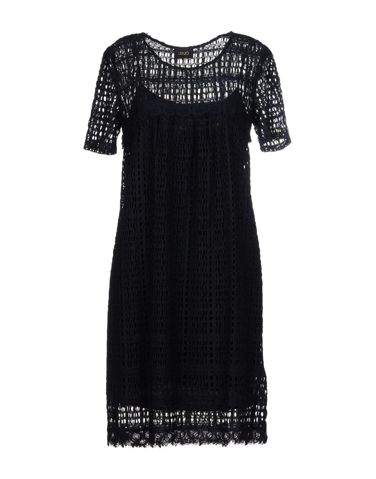 LIU •JO Платье до колена платье liu jo f18084f0618 22222