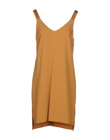 Купить Женское короткое платье CARLA G. цвет охра