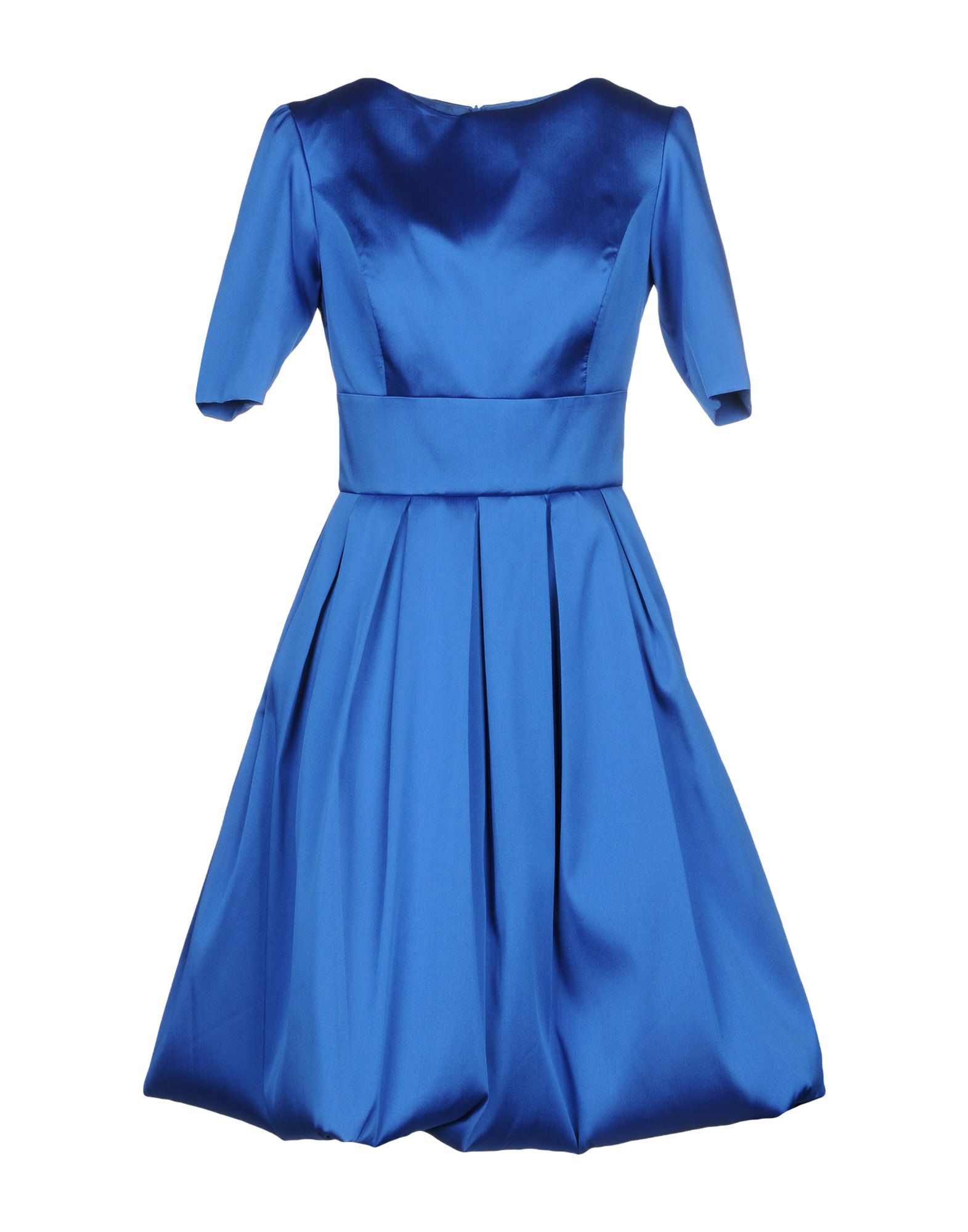 IO COUTURE Knee-Length Dress in Blue