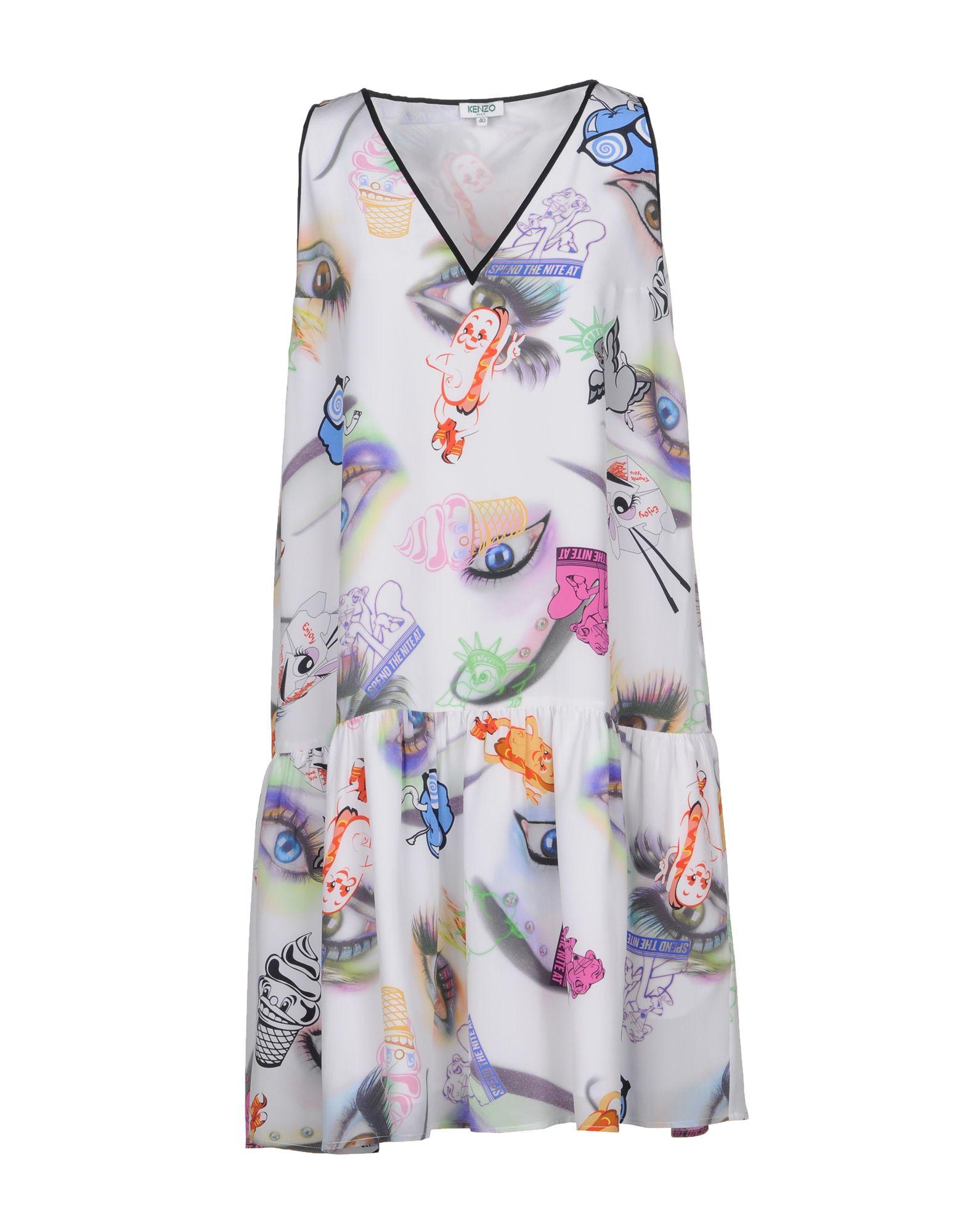 KENZO Короткое платье kenzo юбка с принтом