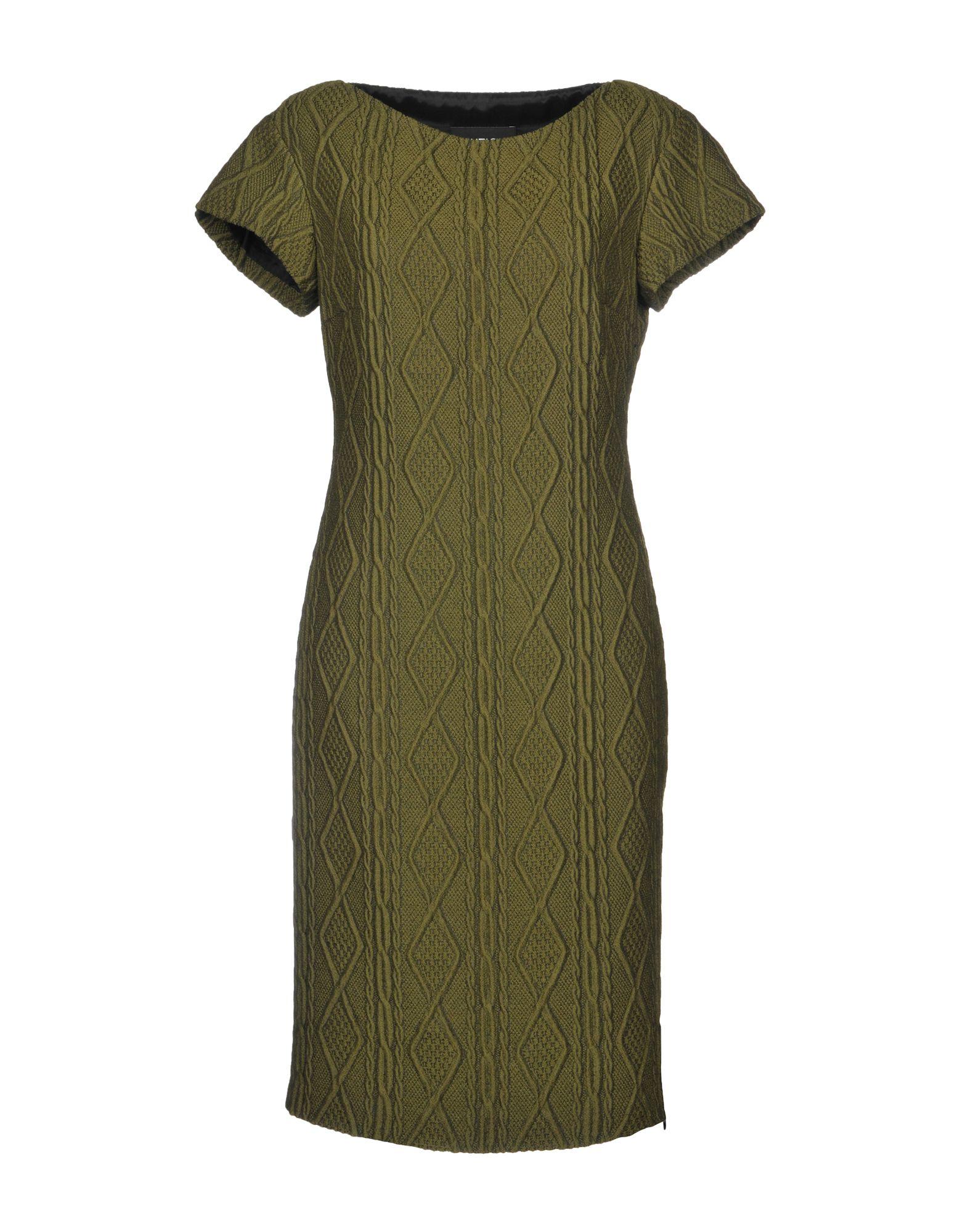 BOUTIQUE MOSCHINO Платье до колена boutique moschino комбинезоны без бретелей