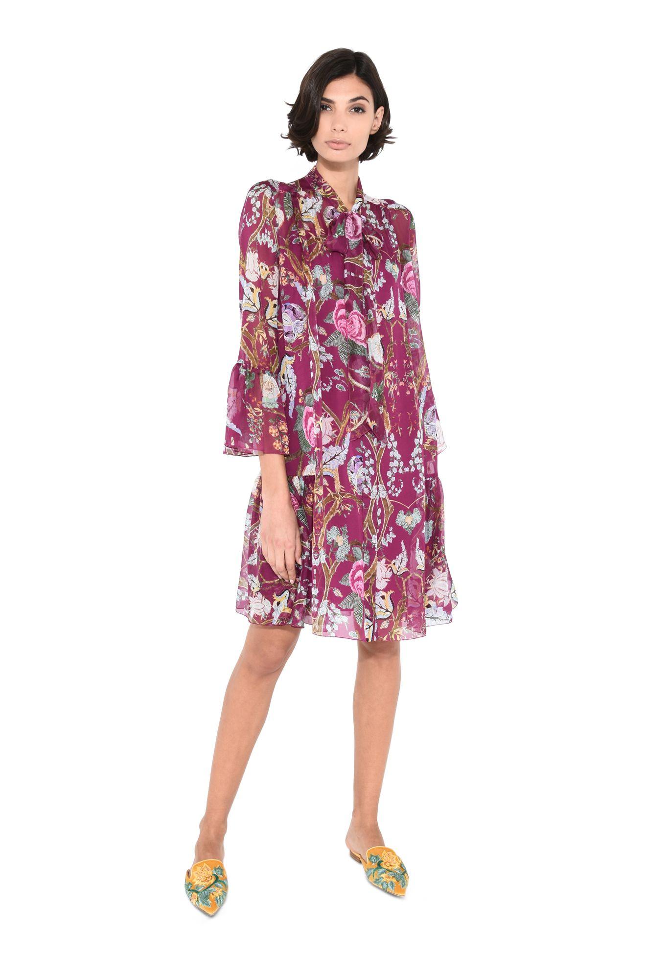 Платье-рубашка кади