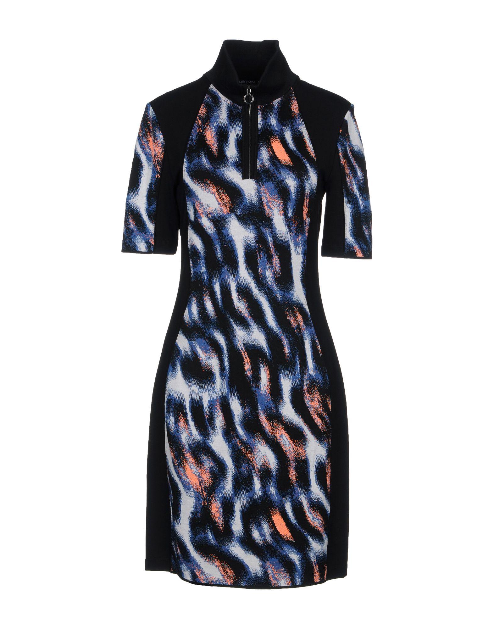 MARC CAIN Короткое платье прилегающее платье с потайной молнией marc cain платья и сарафаны мини короткие