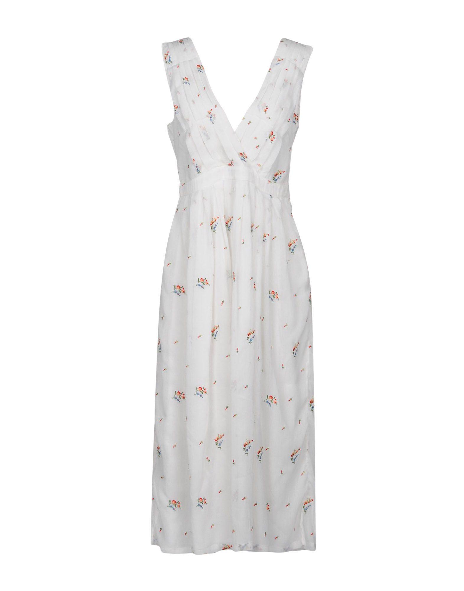 MANOUSH Платье до колена цены онлайн