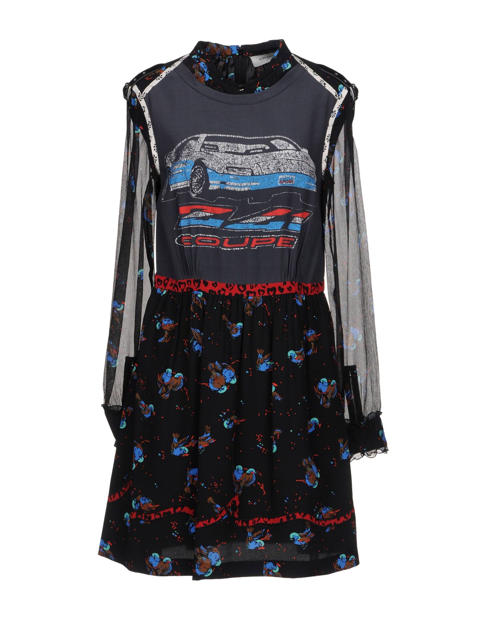 Фото - COACH Короткое платье coach короткое платье
