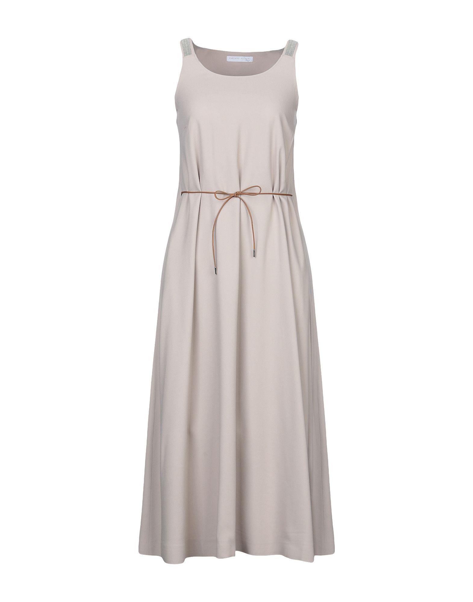 FABIANA FILIPPI Длинное платье fabiana filippi ремень