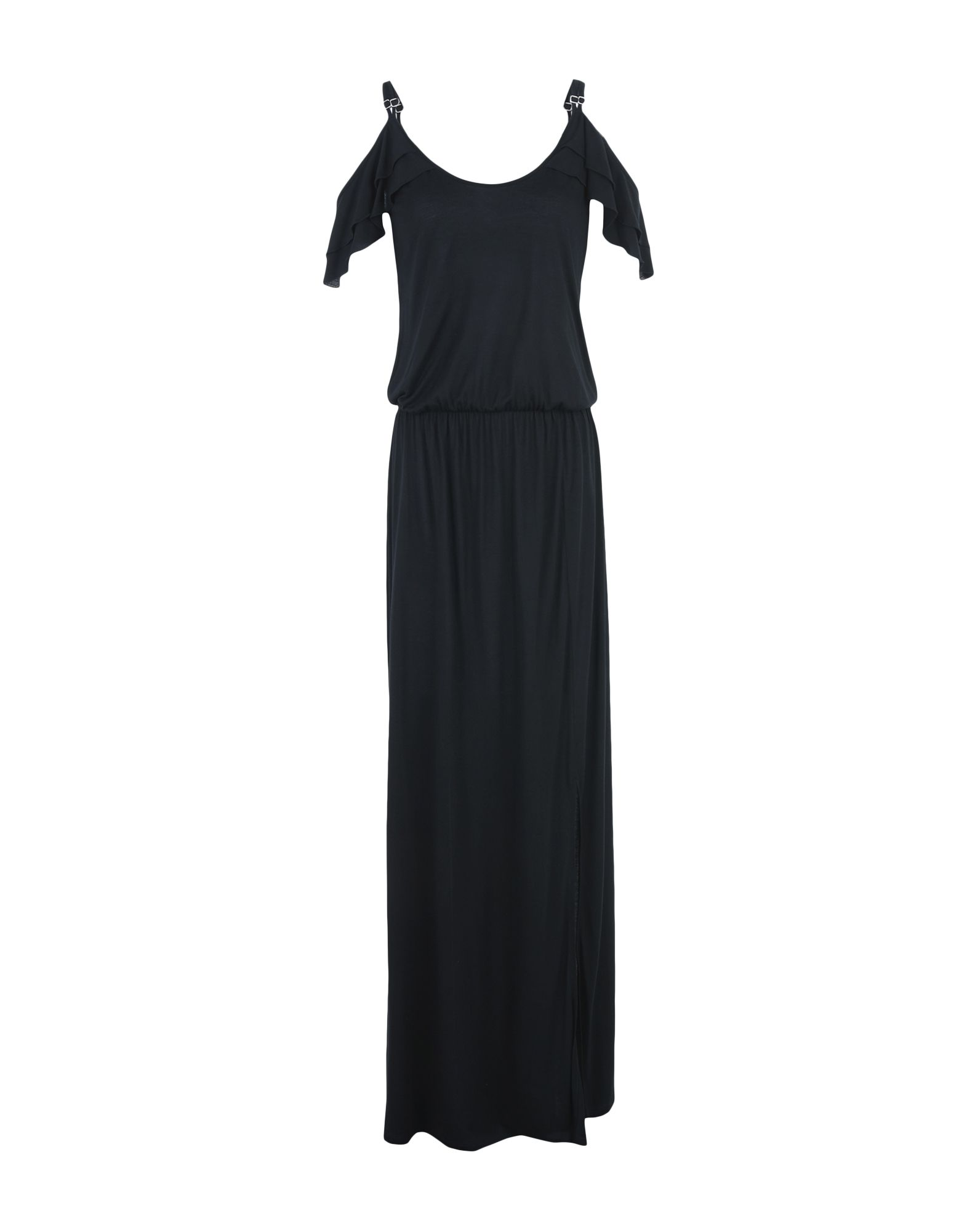 SVNTY Long Dress in Black