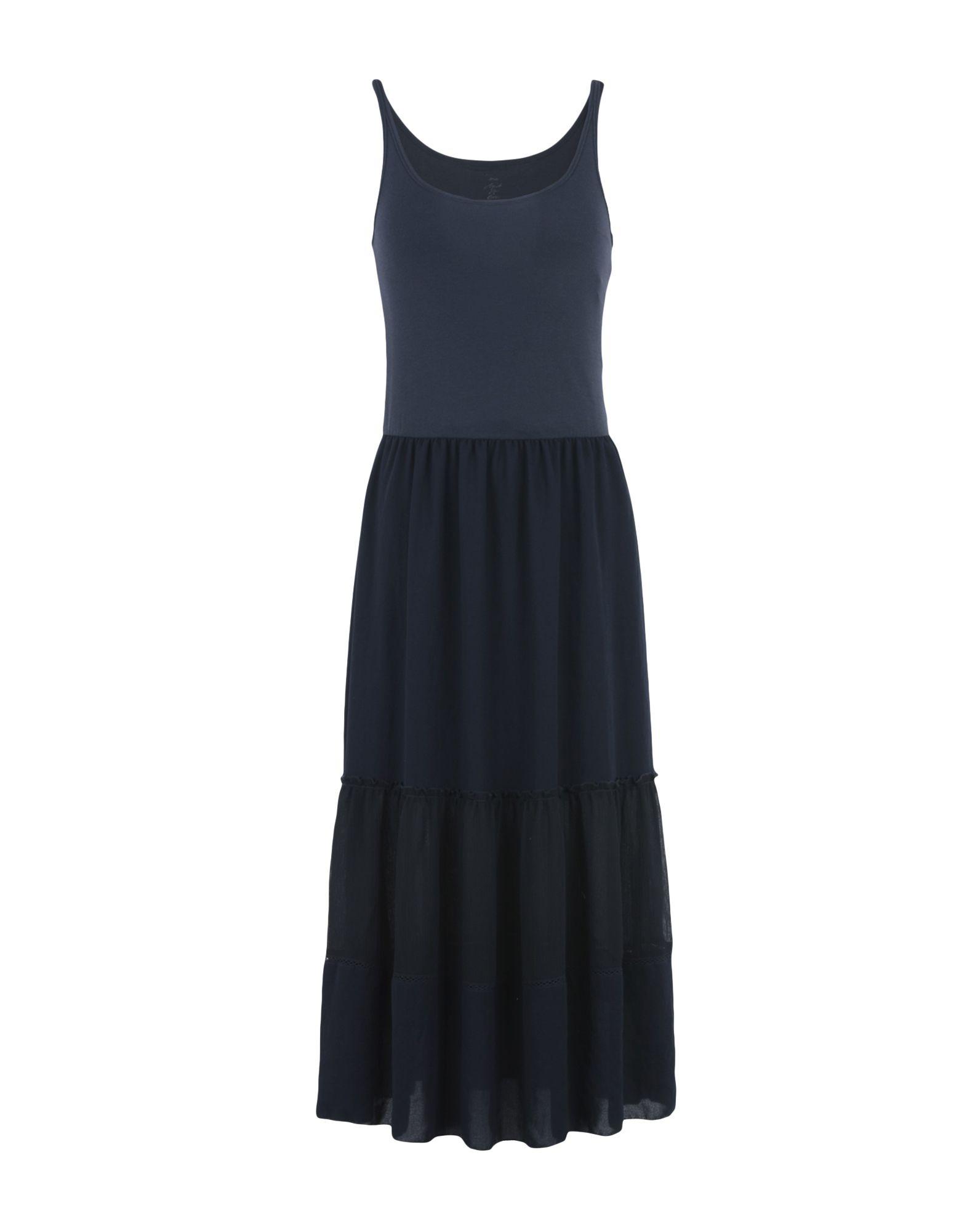 MARC CAIN Платье длиной 3/4 джинсы marc cain джинсы в стиле брюк