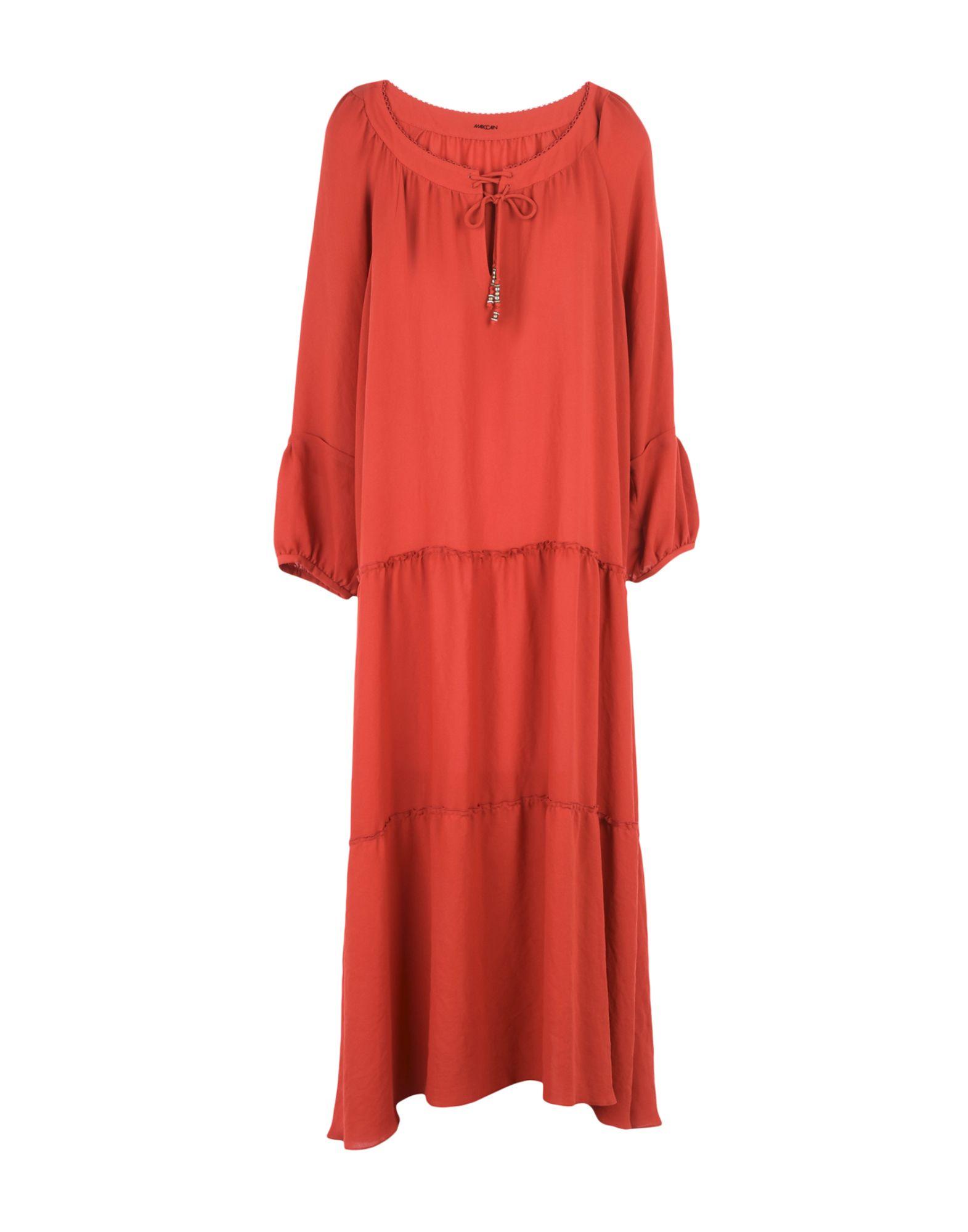 MARC CAIN Длинное платье marc cain топ без рукавов