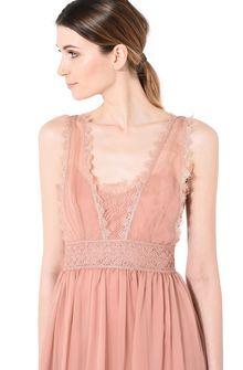 ALBERTA FERRETTI Pink mini dress Short Dress Woman d