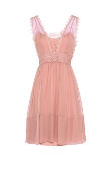 ALBERTA FERRETTI Pink mini dress Short Dress Woman e