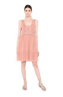 ALBERTA FERRETTI Pink mini dress Short Dress Woman f