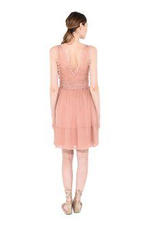 ALBERTA FERRETTI Pink mini dress Short Dress Woman r