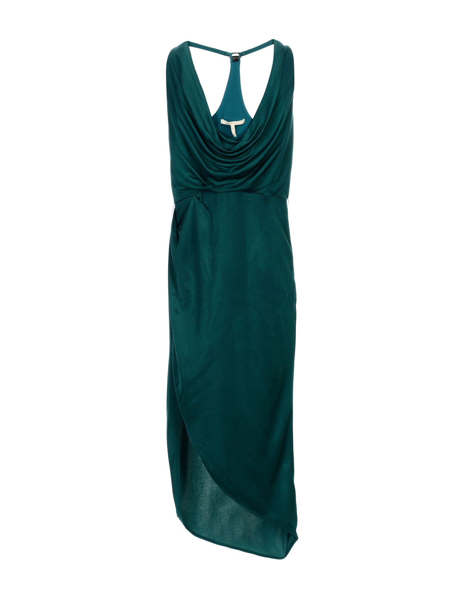 где купить HALSTON HERITAGE Платье длиной 3/4 по лучшей цене