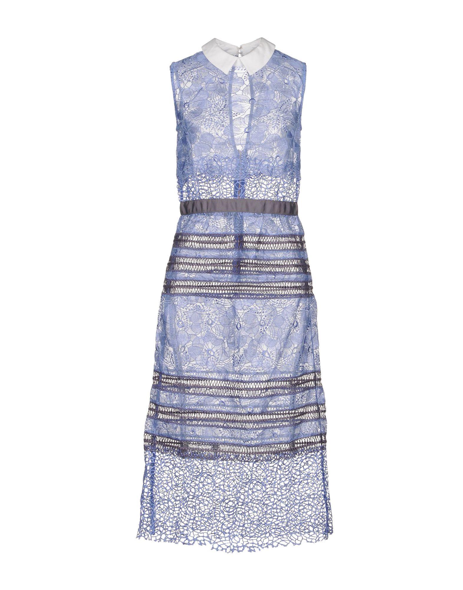SELF-PORTRAIT Платье длиной 3/4 lisa corti платье длиной 3 4