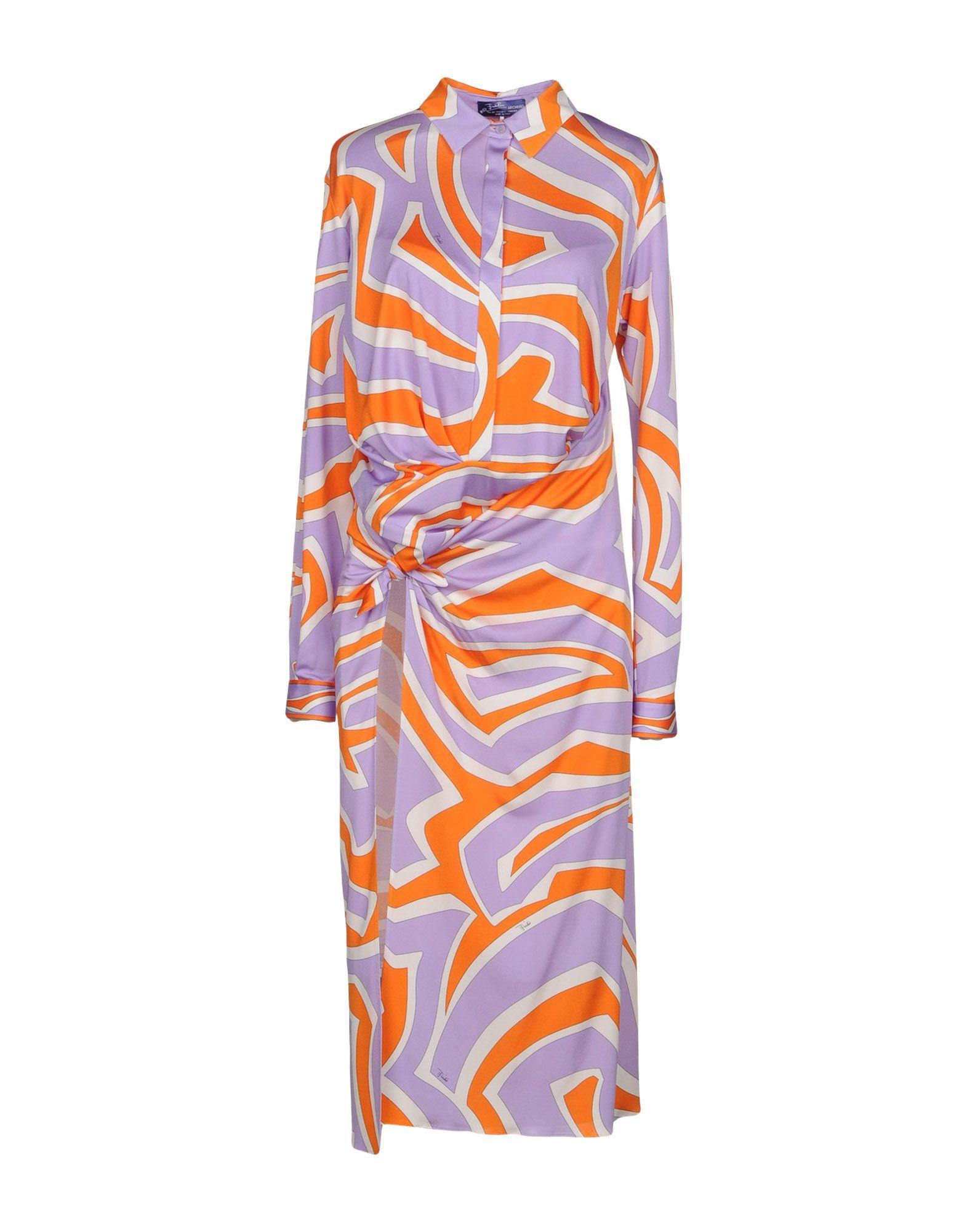 EMILIO PUCCI Платье длиной 3/4 цена 2017
