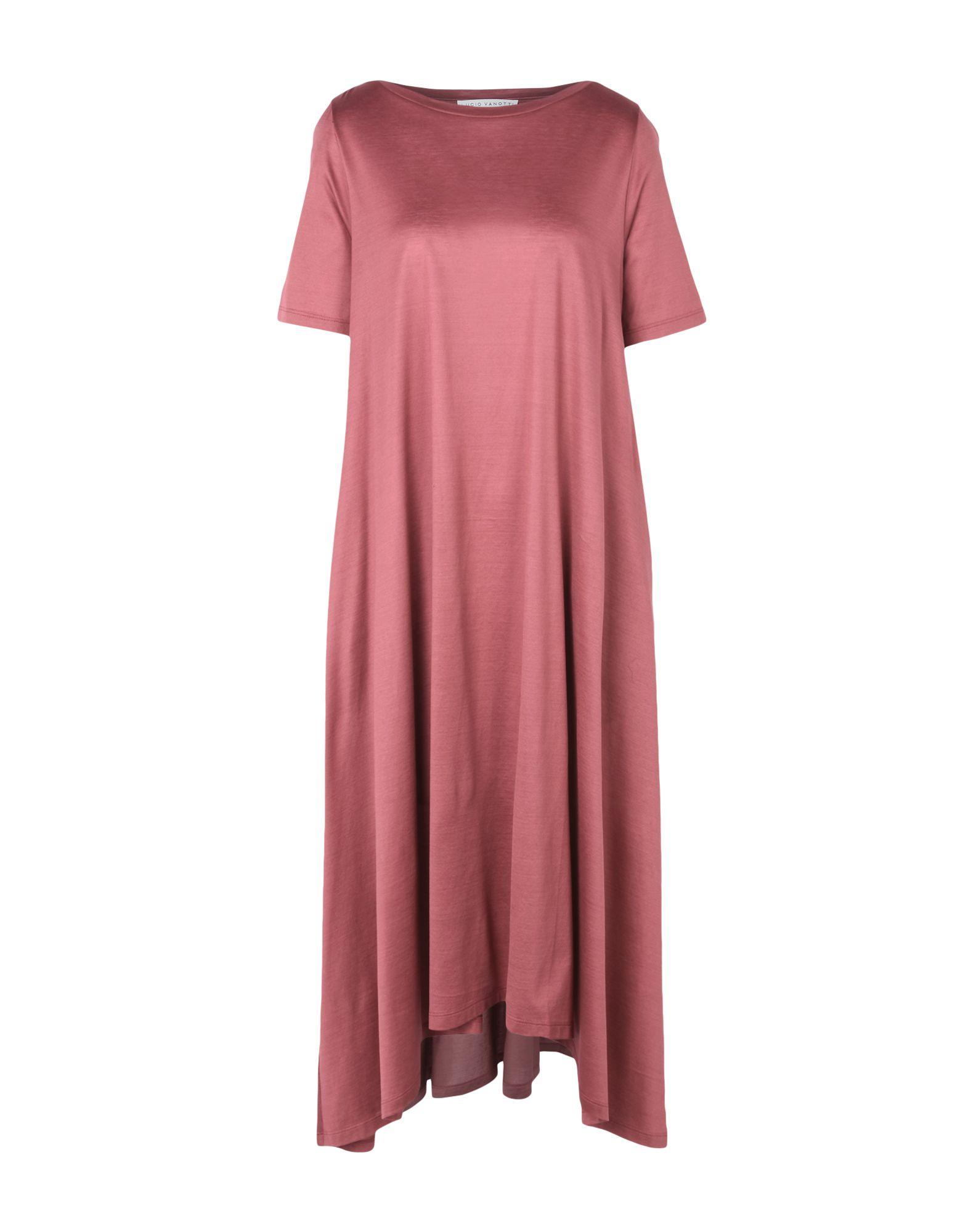LUCIO VANOTTI Платье длиной 3/4 lucio vanotti юбка до колена