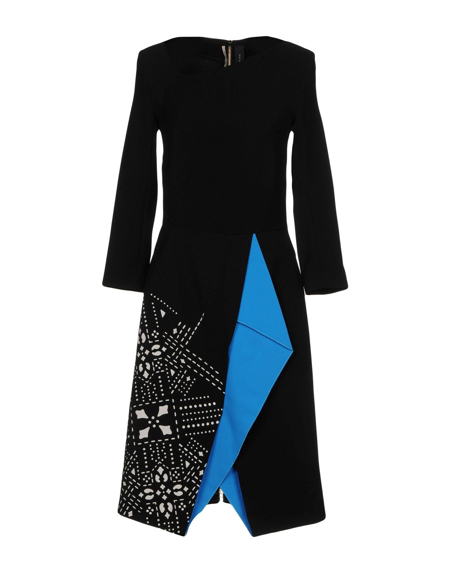 ROLAND MOURET Платье до колена вокальный процессор roland vp 03